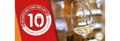 10 ans de la maison des vins de Cheverny