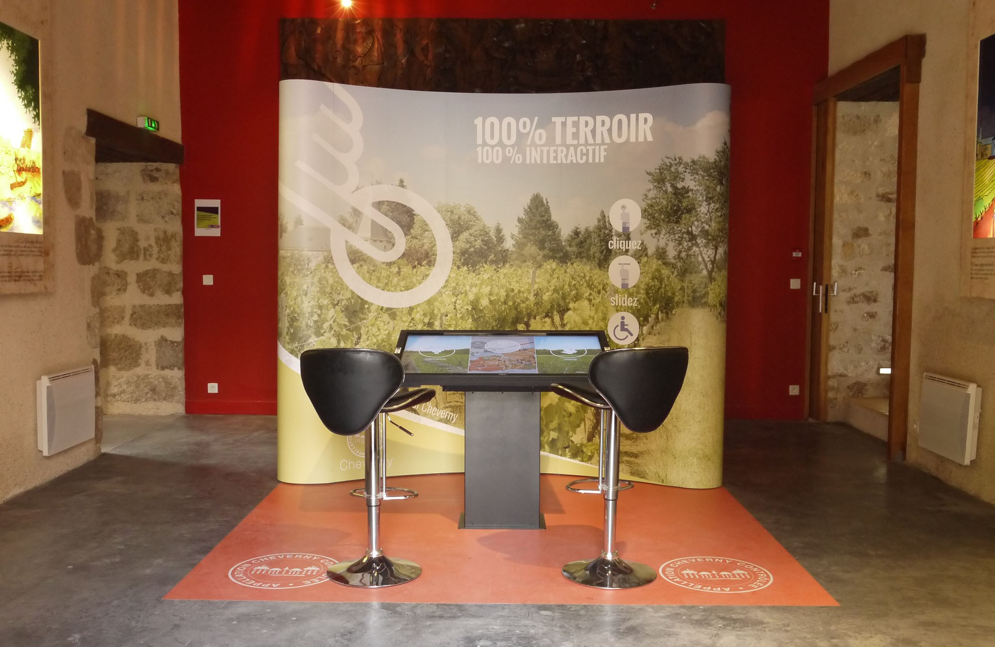 Venez visiter notre nouvelle salle interactive
