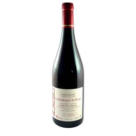 Sevin Cheverny Rouge 2015  Quadrature